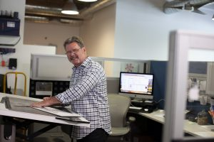 Banahan Team Member Working at Desk